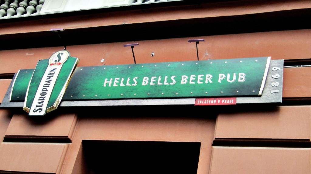hells bells pub prague