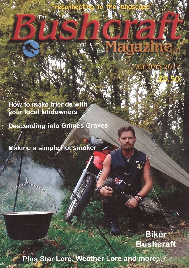 edward o'toole bushcraft magazine cover