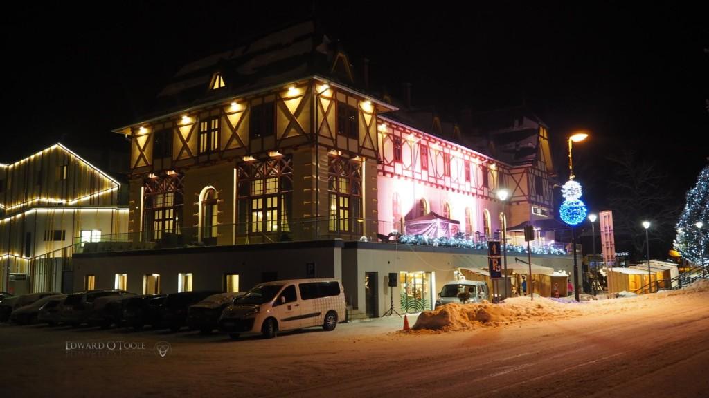 tatranska lomnica night