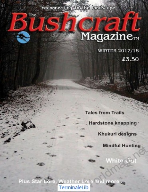 Bushcraft Magazine UK Winter 2017 2018-p01