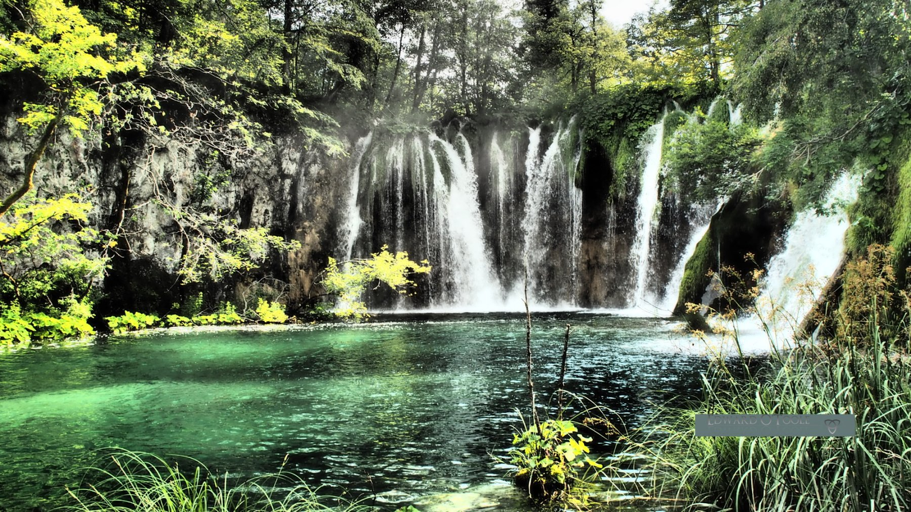 croatia waterfall