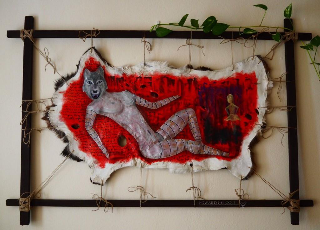wolfgirlpainting