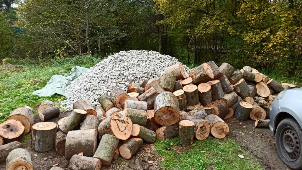 pilesofrockandwood