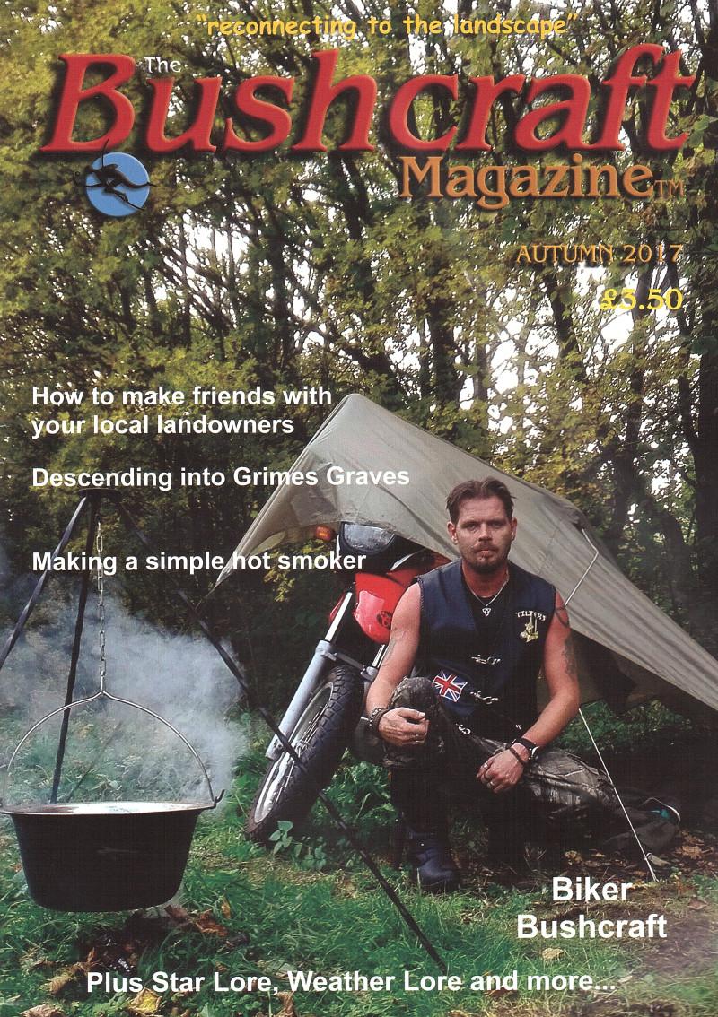 edward o'toole bushcraft magazine cover